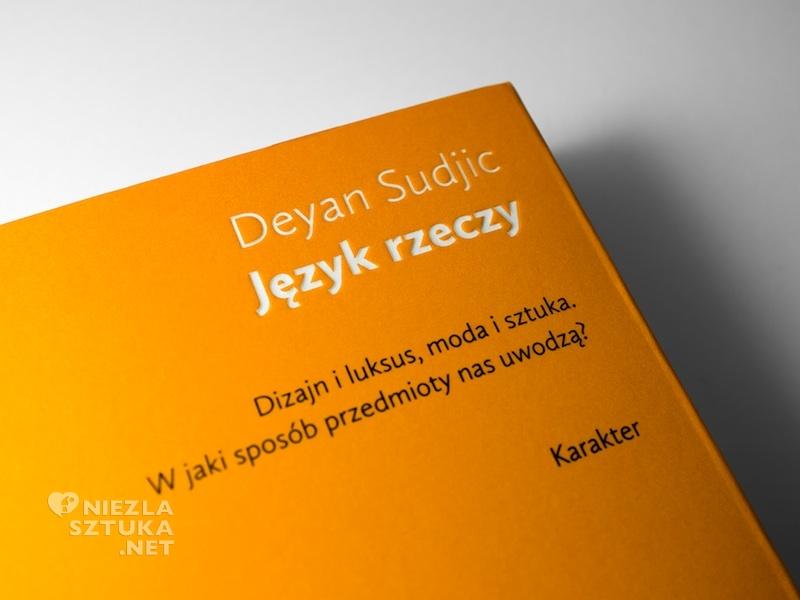 Deyan Sudjic Język rzeczy recenzja