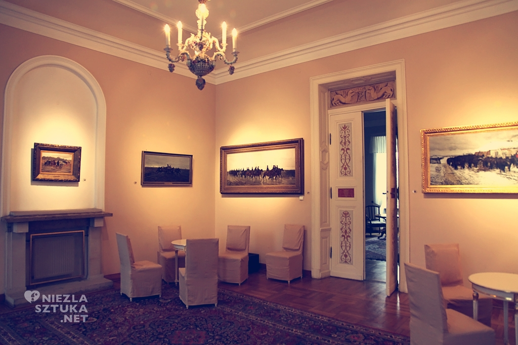 Pałac w Radziejowicach, Józef Chełmoński, Niezła Sztuka