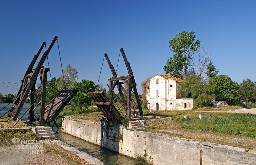 Vincent van Gogh, Zwodzony most Langlois w Arles, sztuka światowa, Francja, Niezła Sztuka