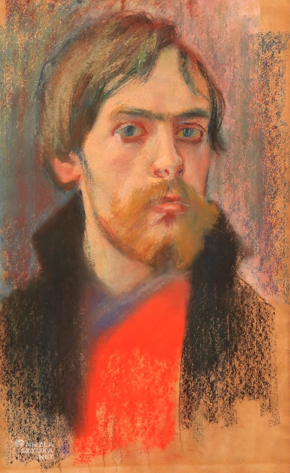 Stanisław Wyspiański, Autoportret, malarstwo polskie, sztuka polska, Niezła Sztuka
