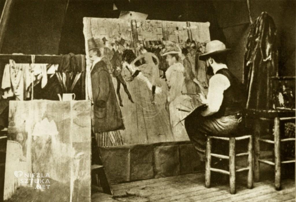 Henri de Toulouse Lautrec, artyści, malarze, Niezła Sztuka