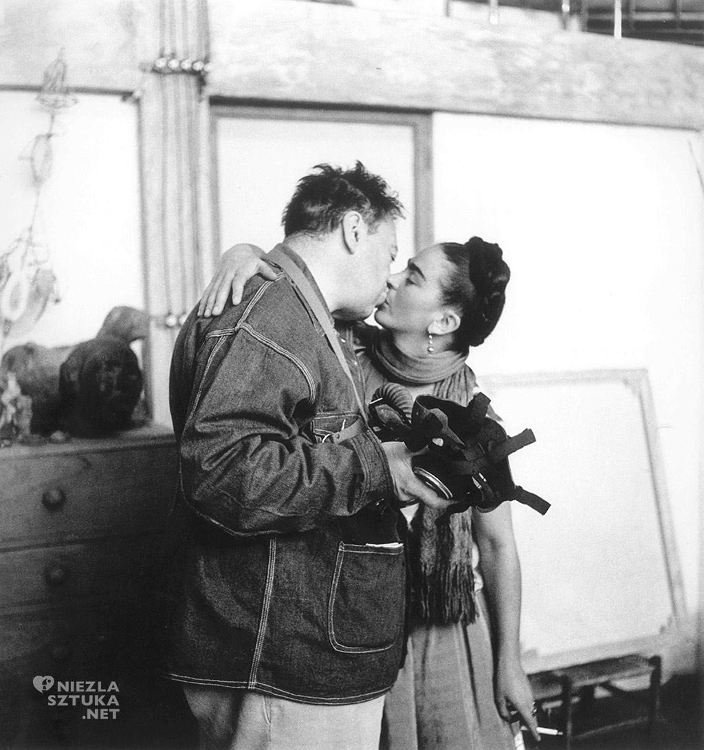 Nickolas Muray Diego i Frida w Coyoacan, 1938 Prywatna kolekcja, Fot. Nickolas Muray © Nickolas Muray Photo Archives