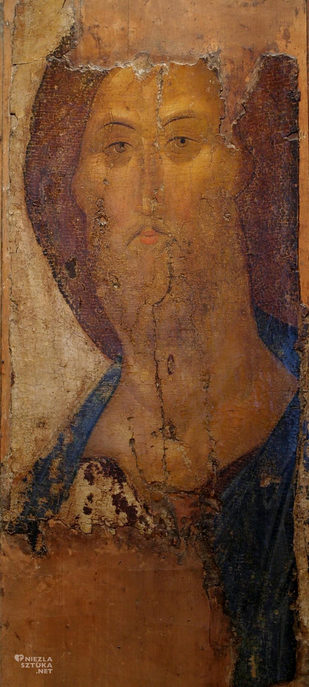 Andriej Rublow Spas Zwienigrodzkij (ikona Chrystusa-Zbawiciela), 1448