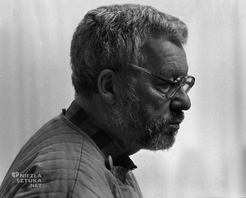 Jerzy Nowosielski | 1987, fot. Wojciech Plewiński , dzięki uprzejmości Pana Wojciecha Plewińskiego