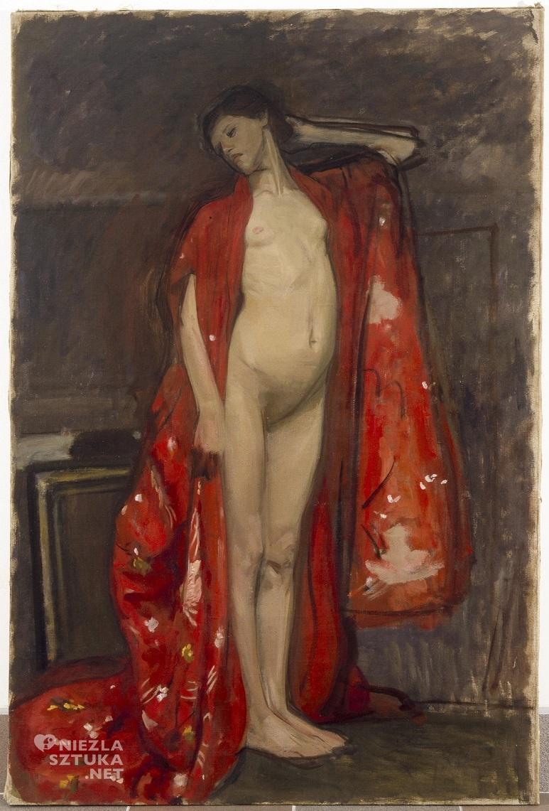 Wojciech Weiss, Japonka, 1900