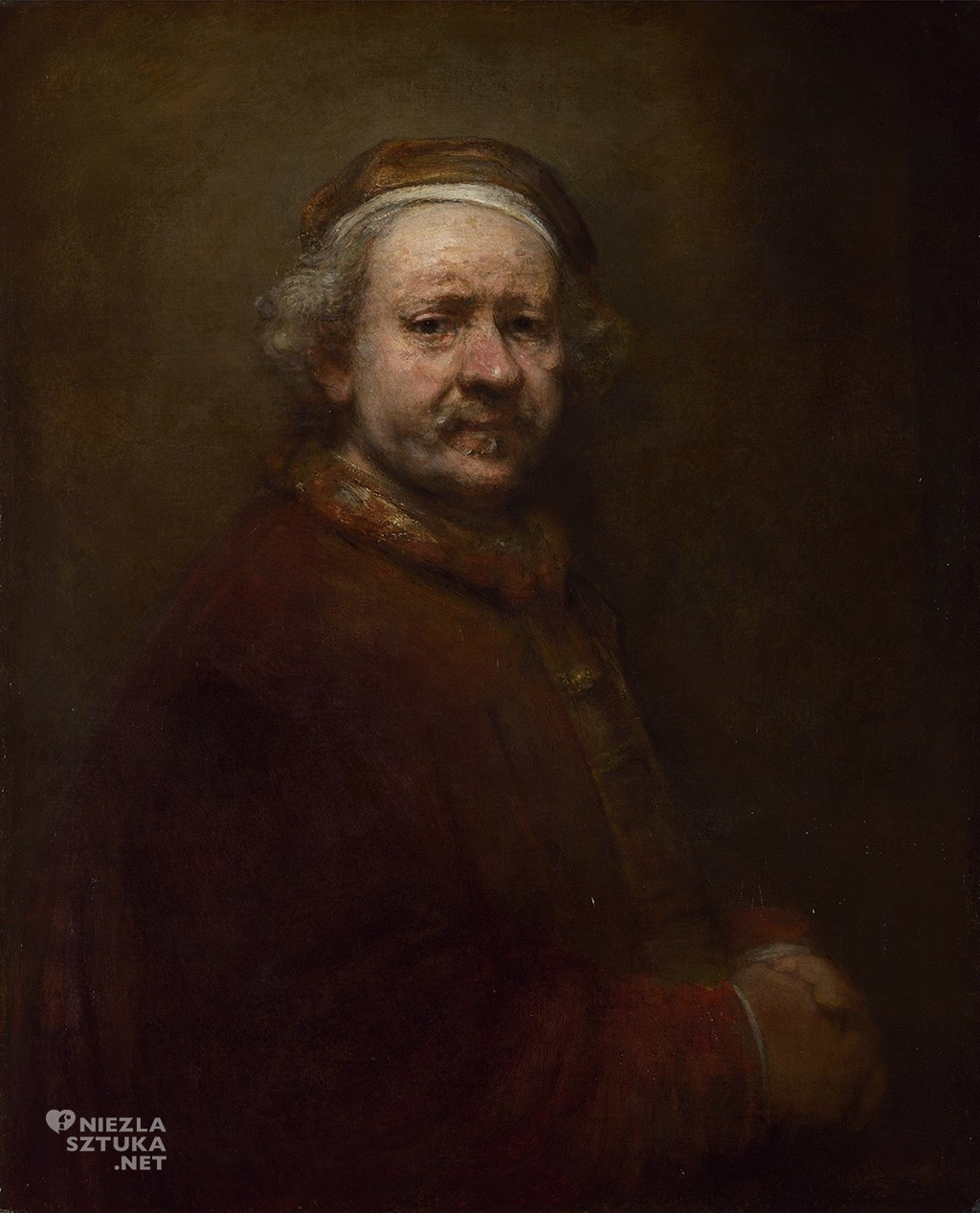 Rembrandt Harmenszoon van Rijn Autoportret w wieku 63 lat