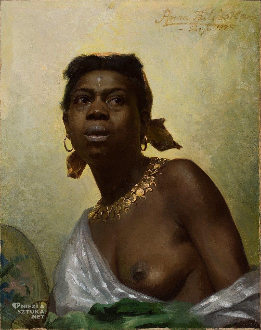 Anna Bilińska-Bohdanowiczowa Murzynka | 1884, olej na płótnie, 64 x 50 cm, fot.: Muzeum Narodowe w Warszawie