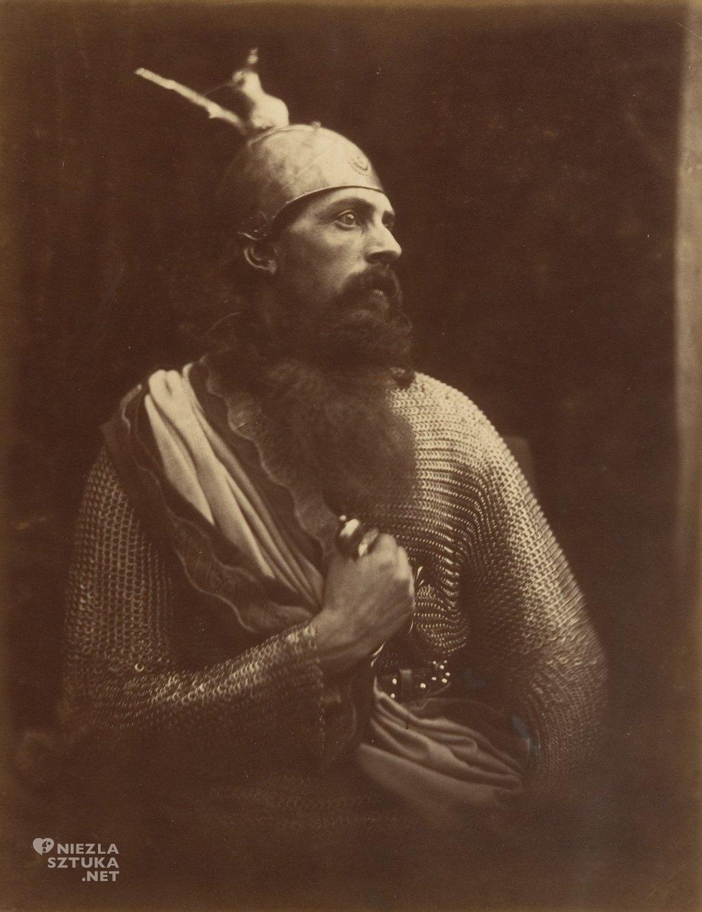 Julia Margaret Cameron Odejście Króla Artura | 1874, fot.: metmuseum.org