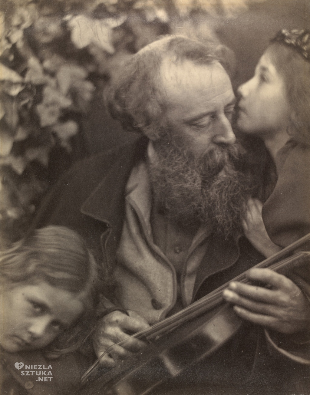 Julia Margaret Cameron Szepty muzy | 1865, fot.: wikipedia.org