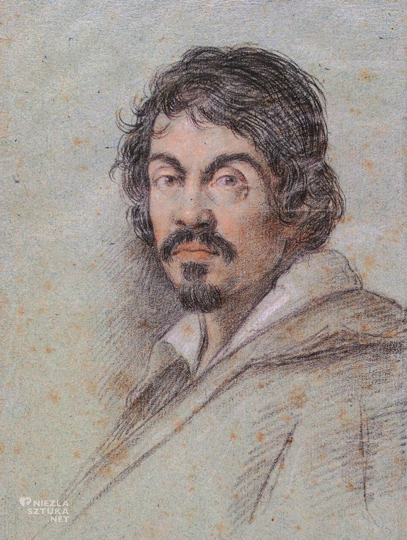 Ottavio Leoni <em>Michelangelo Merisi da Caravaggio </em>| ok. 1621, Biblioteca Marucelliana, Florencja