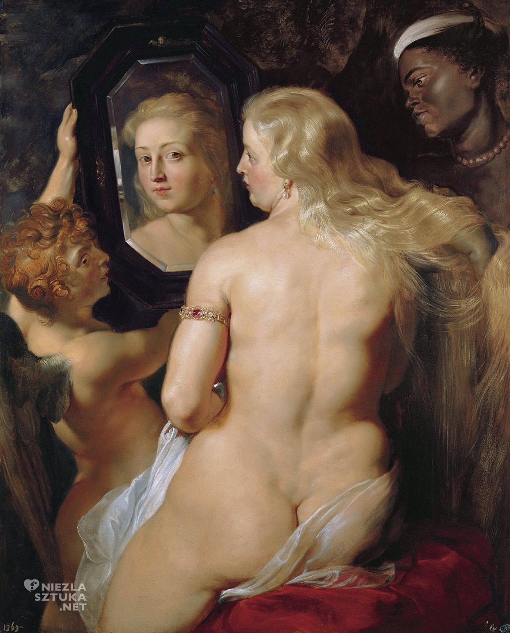 Peter Paul Rubens <em>Wenus przed lustrem</em> | ok. 1615, olej na desce, 124 × 98 cm, Liechtenstein Museum, Wiedeń