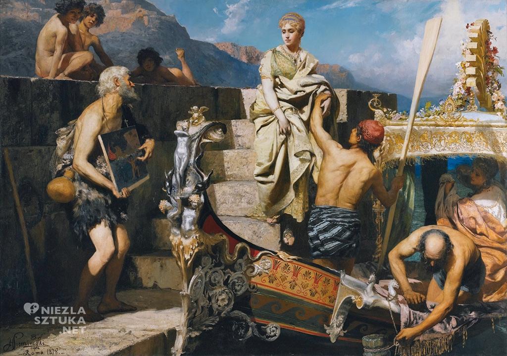 Henryk Siemiradzki <em>Żebrzący rozbitek</em> | 1878, <br>olej na płótnie, 208 × 293,5 cm, sothebys.com