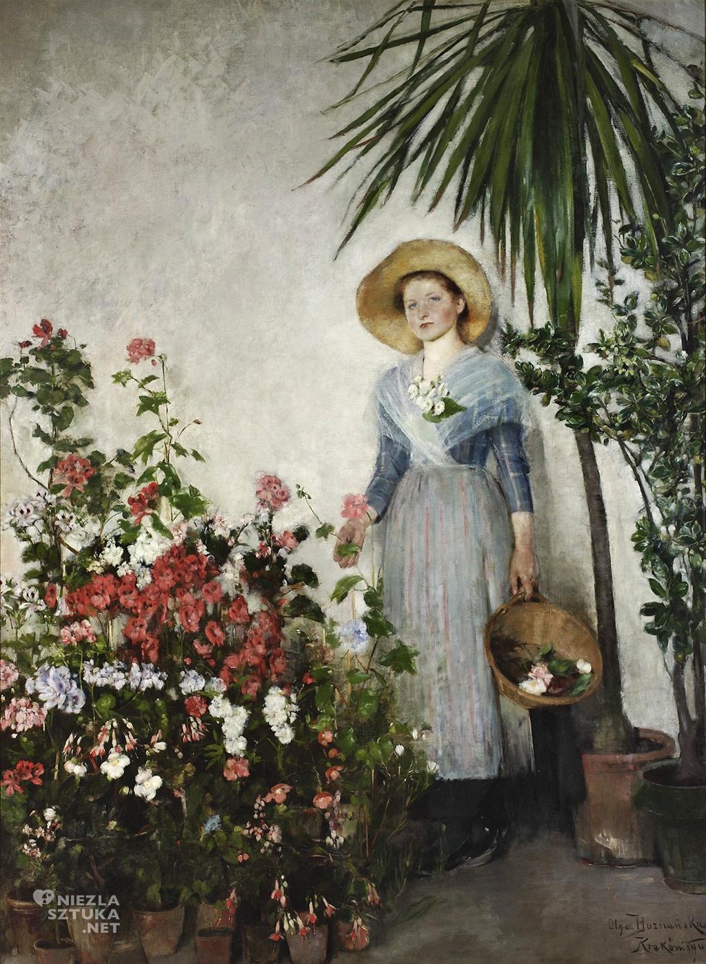 Olga Boznańska, W oranżerii (W cieplarni) | 1890, Muzeum Narodowe w Warszawie