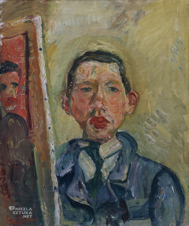Chaim Soutine Autoportret | ok. 1918, fot.: pearlmancollection.org