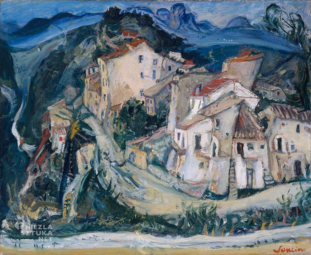 Chaim Soutine Widok Cagnes | ok. 1924–25, Metropolitan Museum of Art, fot.: metmuseum.org