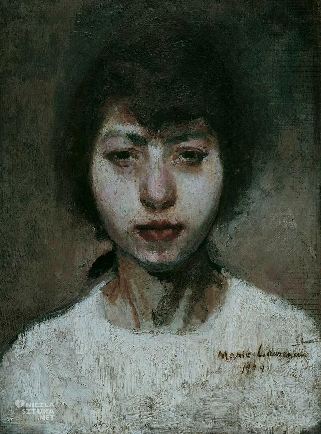 Marie Laurencin <em>Autoportret</em> | 1904,