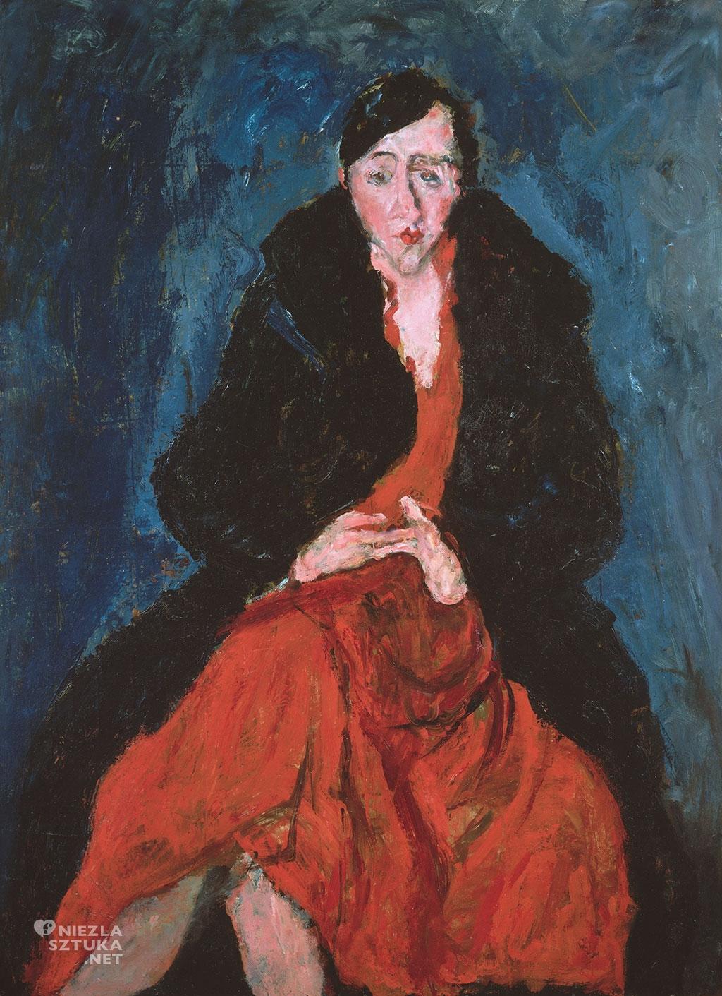 Chaim Soutine Portret Madeleine Castaing | ok. 1929, Metropolitan Museum of Art, fot.: metmuseum.org