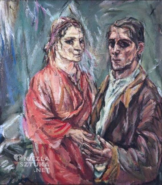 Oskar Kokoschka <em>Autoportret z Almą Mahler</em> | 1912,