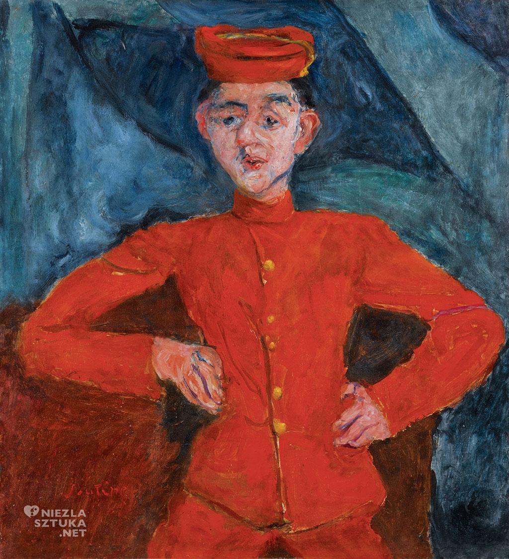 Chaim Soutine <em>Le chasseur de chez Maxim's</em> | ok. 1925<br>olej na płótnie,