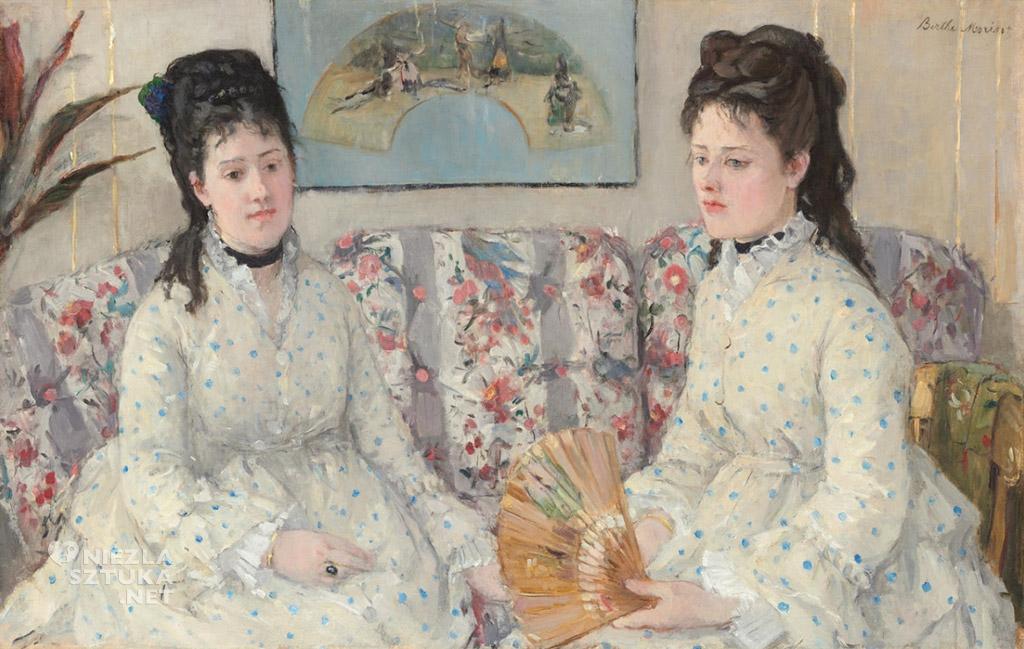 Berthe Morisot, <em>Dwie siostry</em>| 1869