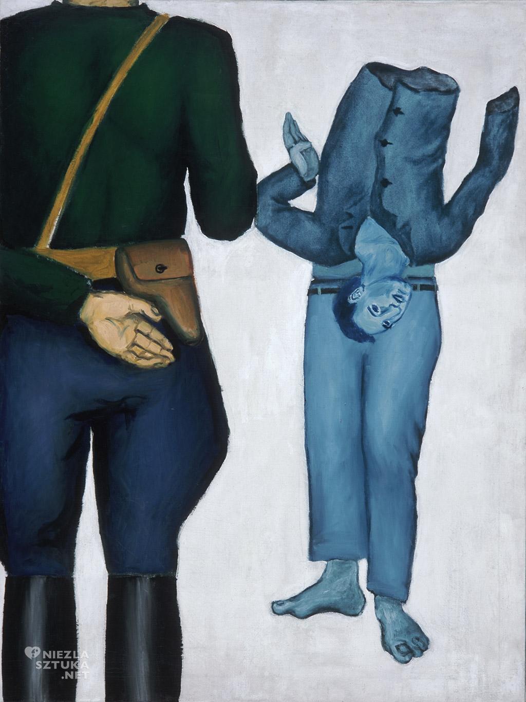 A. Wróblewski Rozstrzelany / Rozstrzelanie z gestapowcem | 1949,