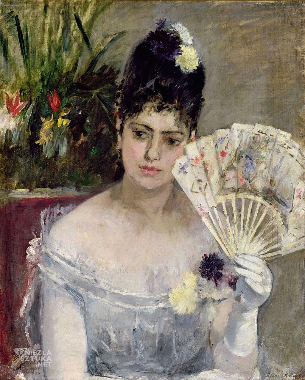 Berthe Morisot Kobieta z wachlarzem