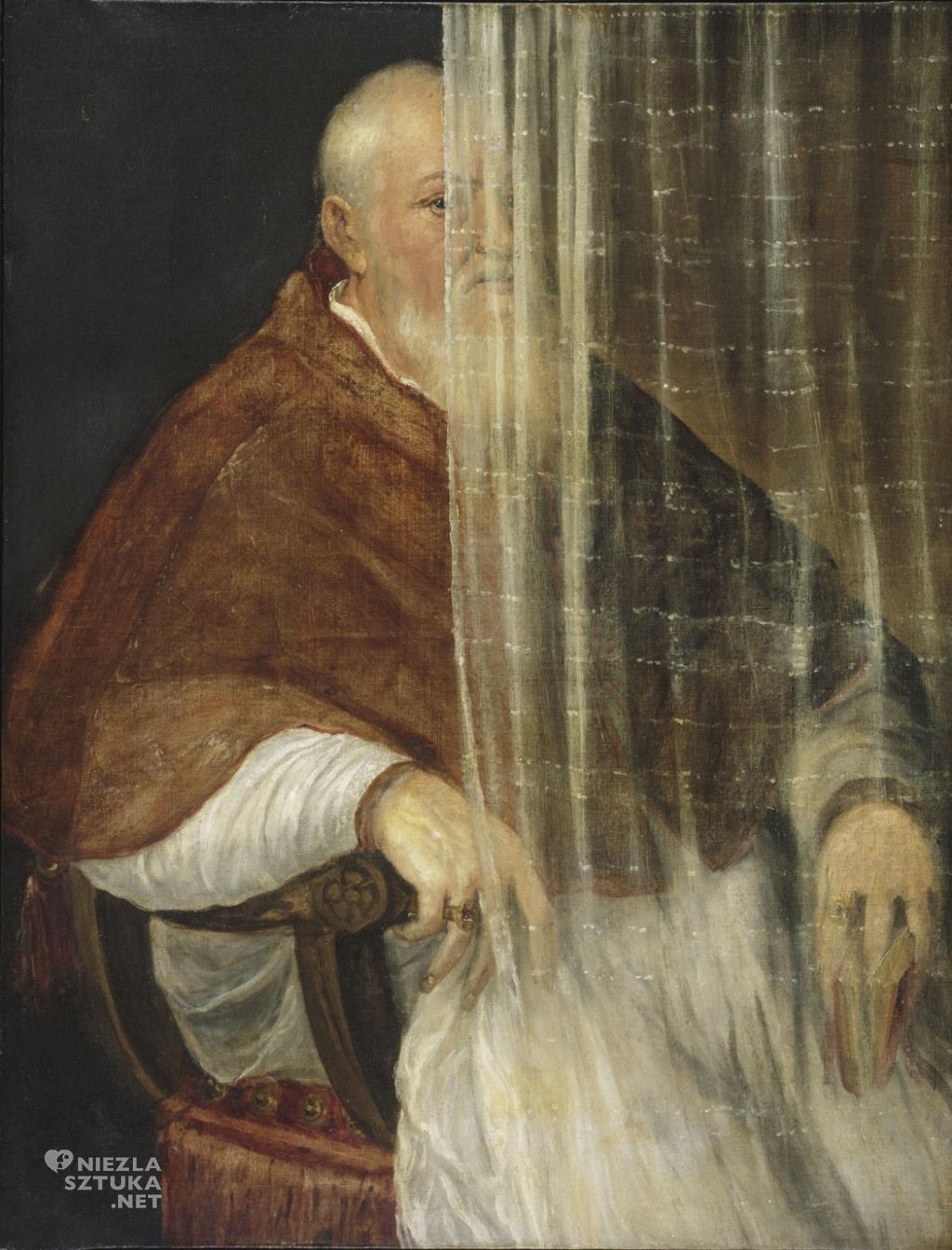 Tycjan Portret kardynała Filippa Archinto | 1558, Philadelphia Museum of Art