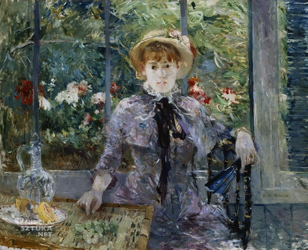 Berthe Morisot Po lunchu