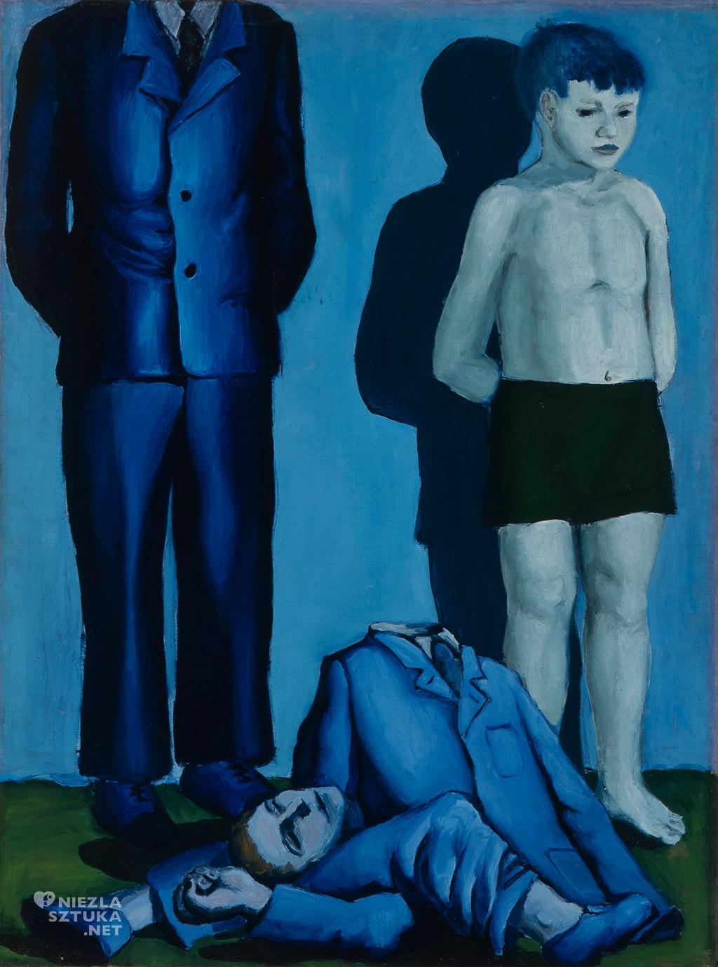 Andrzej Wróblewski <em>Egzekucja z dzieckiem</em> | 1949, Muzeum Narodowe w Poznaniu