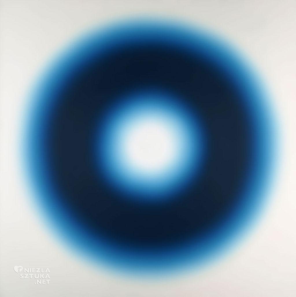 Wojciech Fangor, M75   1968, wymiar: 142 × 142 cm, olej na płótnie