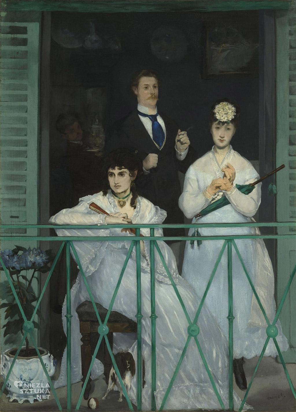 Edouard Manet Balcon| 1869