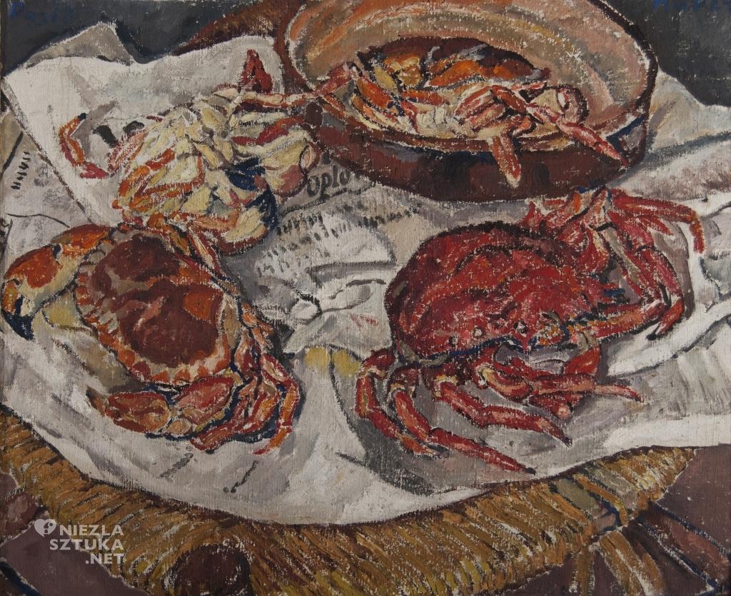 Mela Muter Martwa natura z krabami | ok. 1918, Muzeum Miasta Łodzi