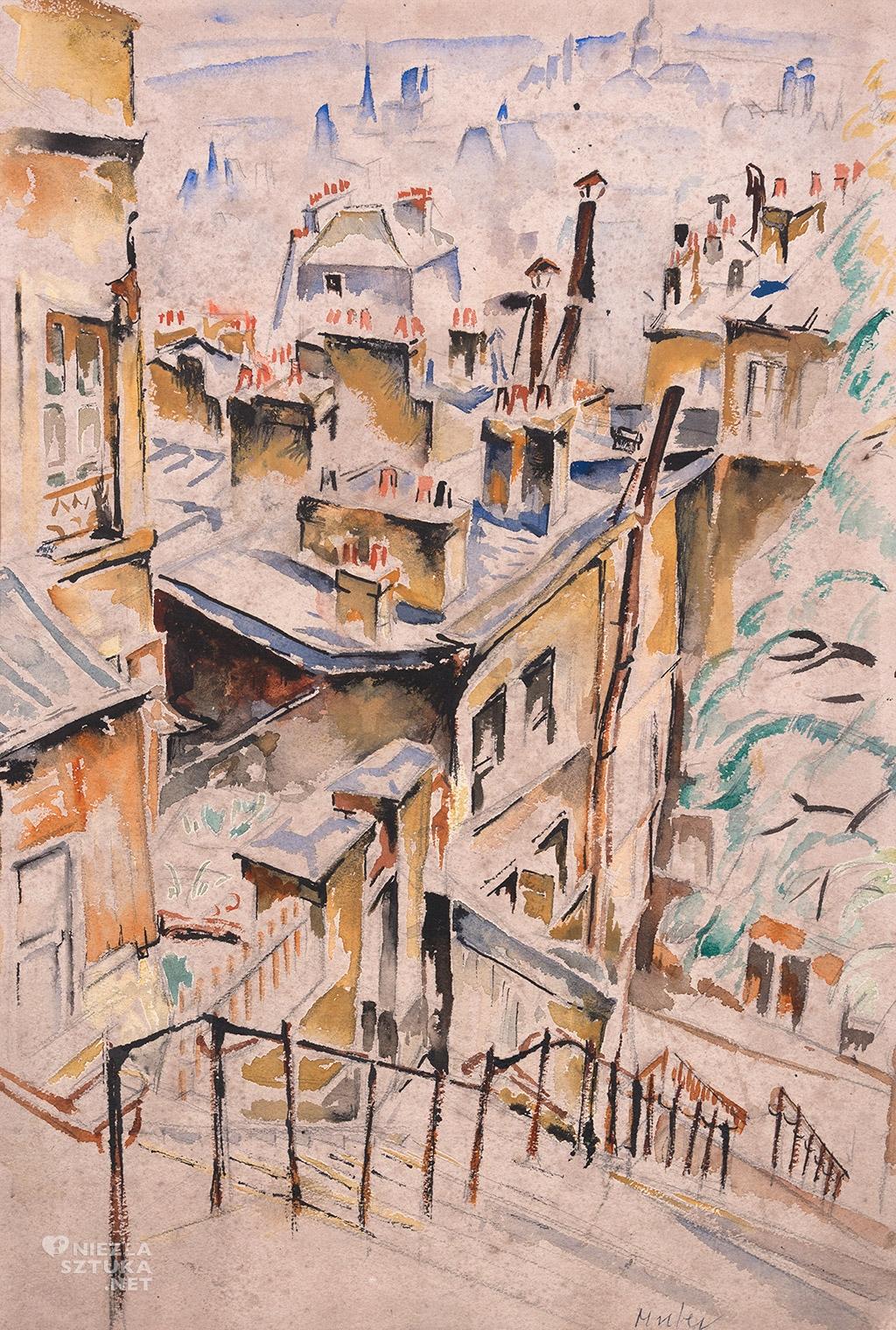 Muter-Mela---Widok-na-Montmartre