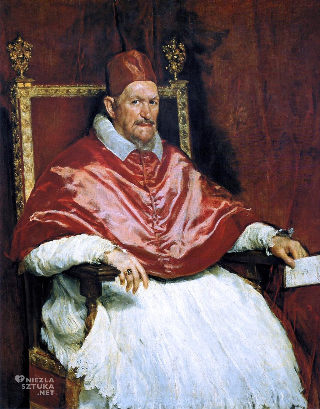 Diego Velázquez <em>Portret papieża Innocentego X</em> | ok. 1650, Galleria Doria Pamphilj, Rzym