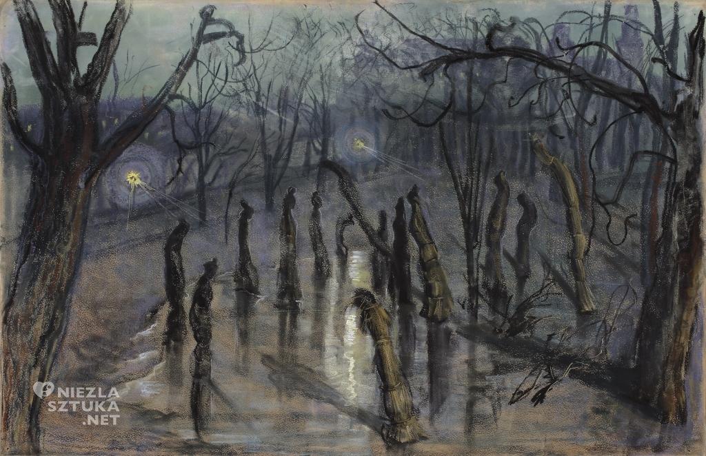 Stanisław Wyspiański, Chochoły, malarstwo polskie, sztuka polska, Niezła Sztuka