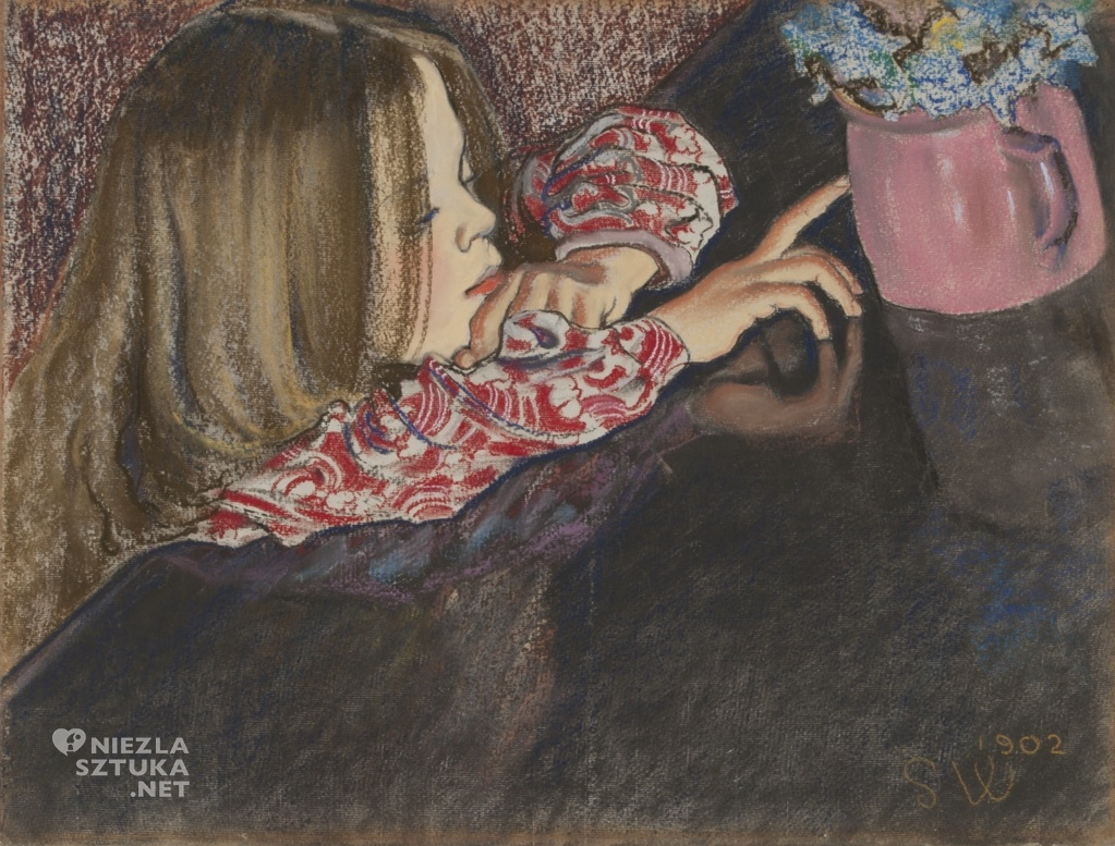 Stanisław Wyspiański Helenka z wazonem | 1902, Muzeum Narodowe w Krakowie