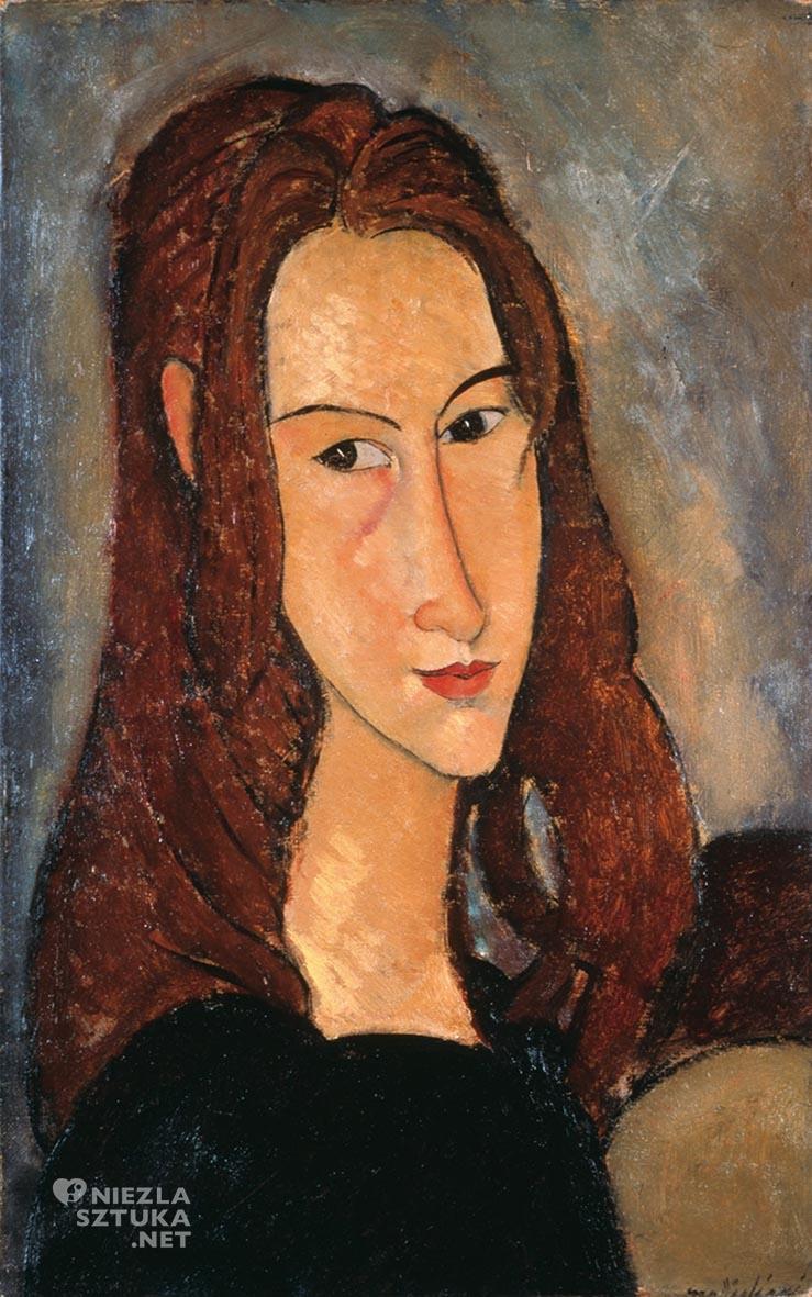Amedeo Modigliani <em>Portret Jeanne Hébuterne </em> | 1918, Pinacothèque de Paris