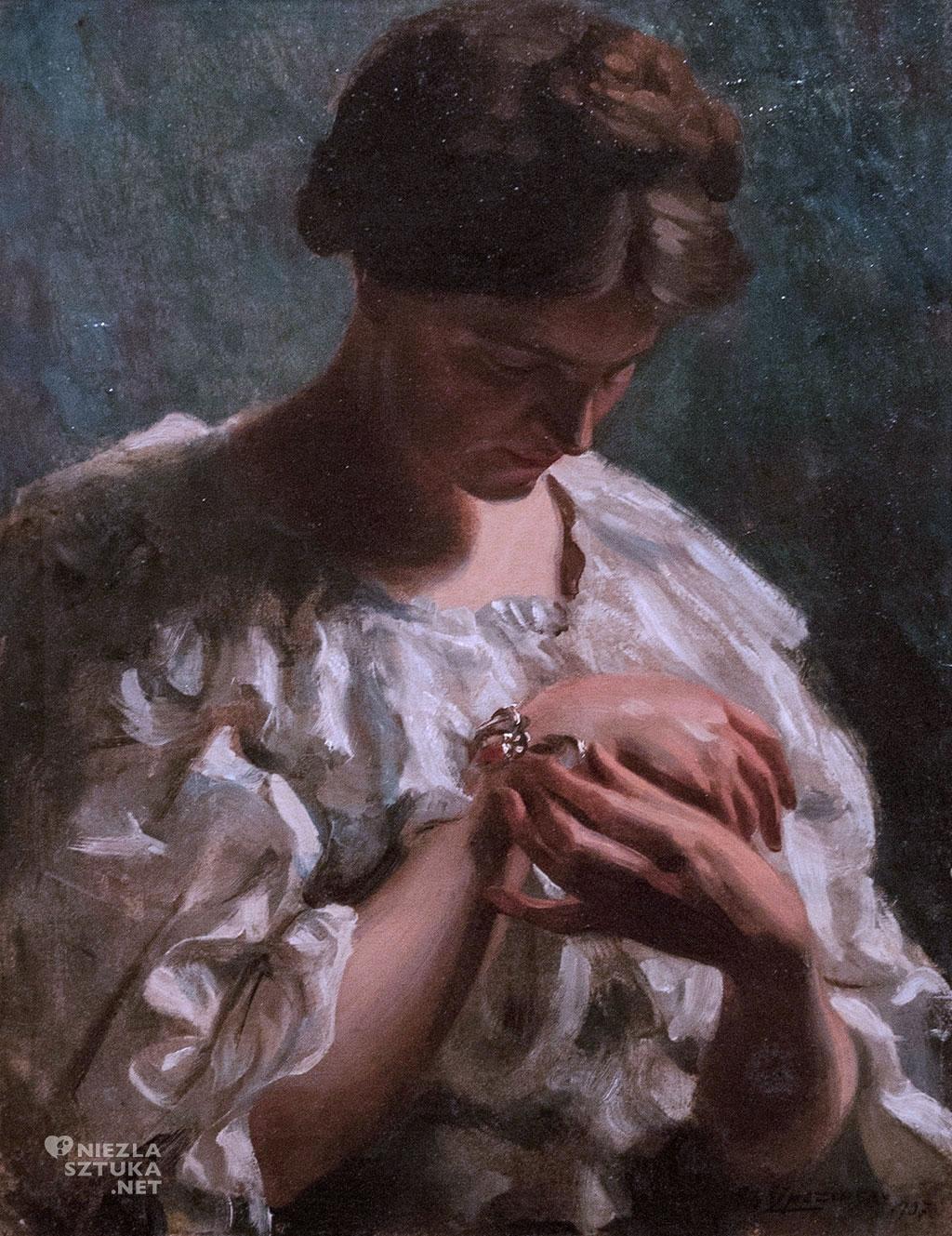 Albert Lipczinski, <em>Portret żony Elżbiety</em> | 1907, Muzeum Narodowe w Gdańsku