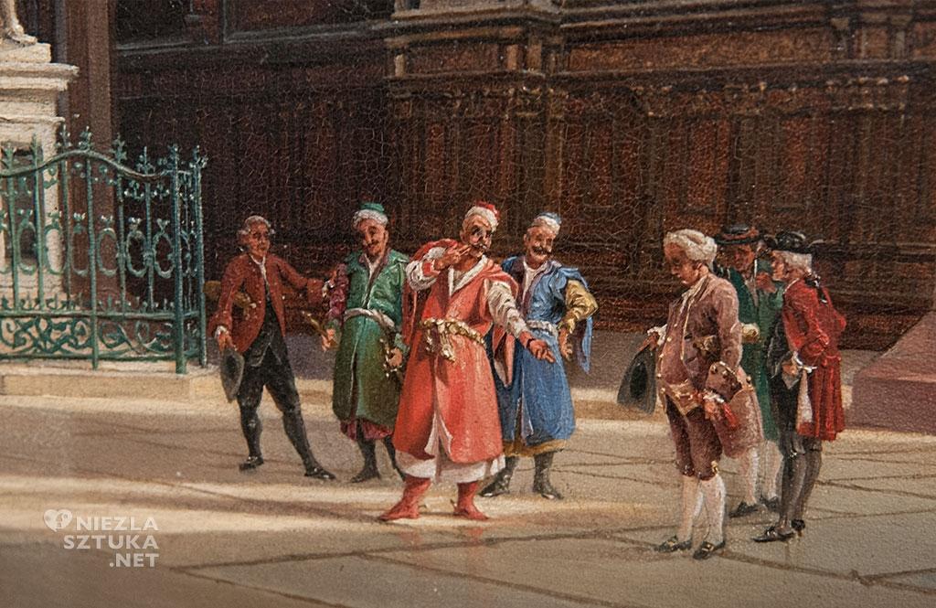 Johann Carl Schultz <em>Dwór Artusa w Gdańsku</em> | 1840-60, Muzeum Narodowe w Gdańsku