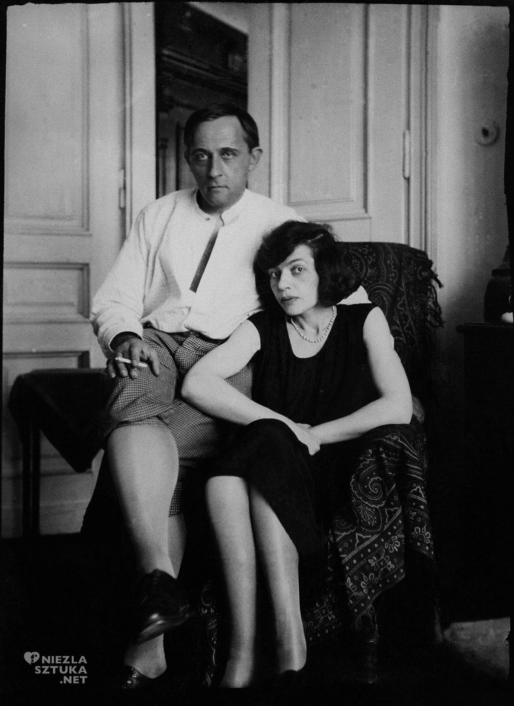 Witkacy z żoną, fot. z kolekcji Stefana Okołowicza