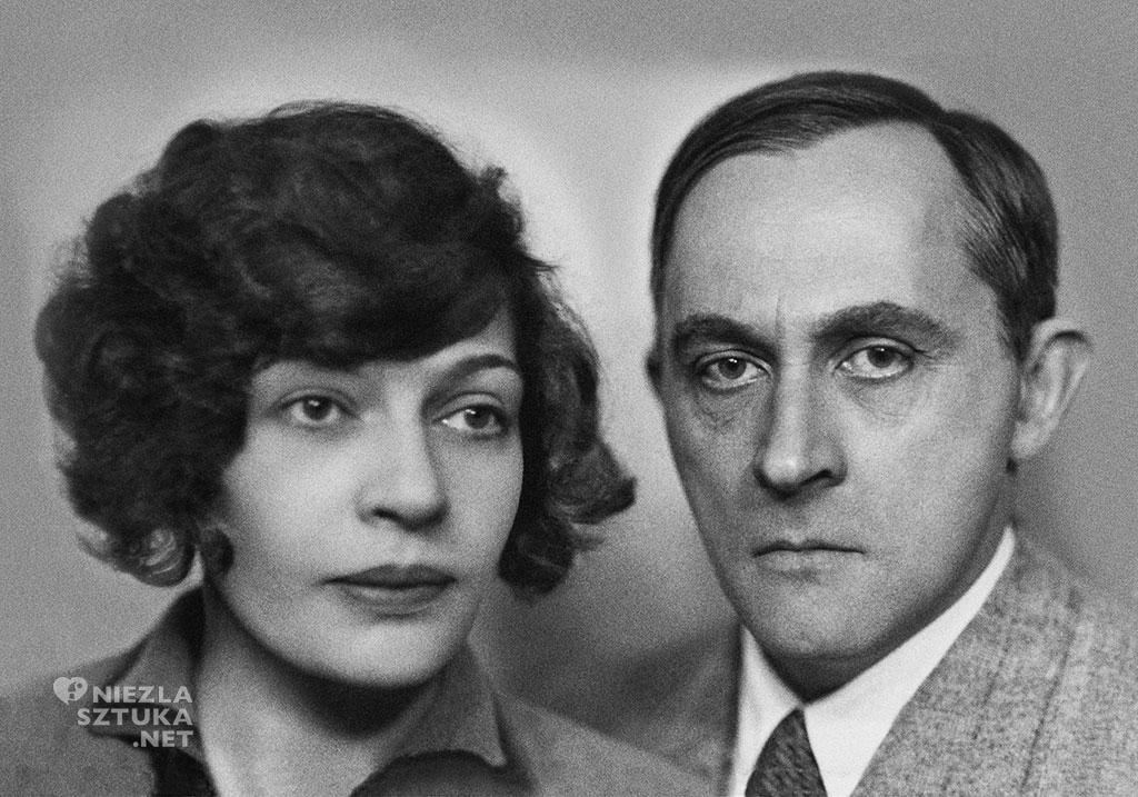 Jadwiga Unrug i Stanisław Ignacy Witkiewicz, połowa lat 30., fot Muzeum Tatrzańskie
