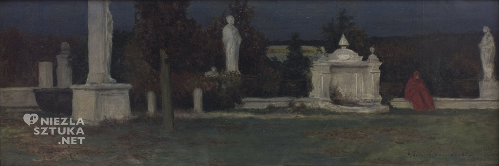 Adam Chmielowski Szara godzina 1880, Muzeum Narodowe w Krakowie