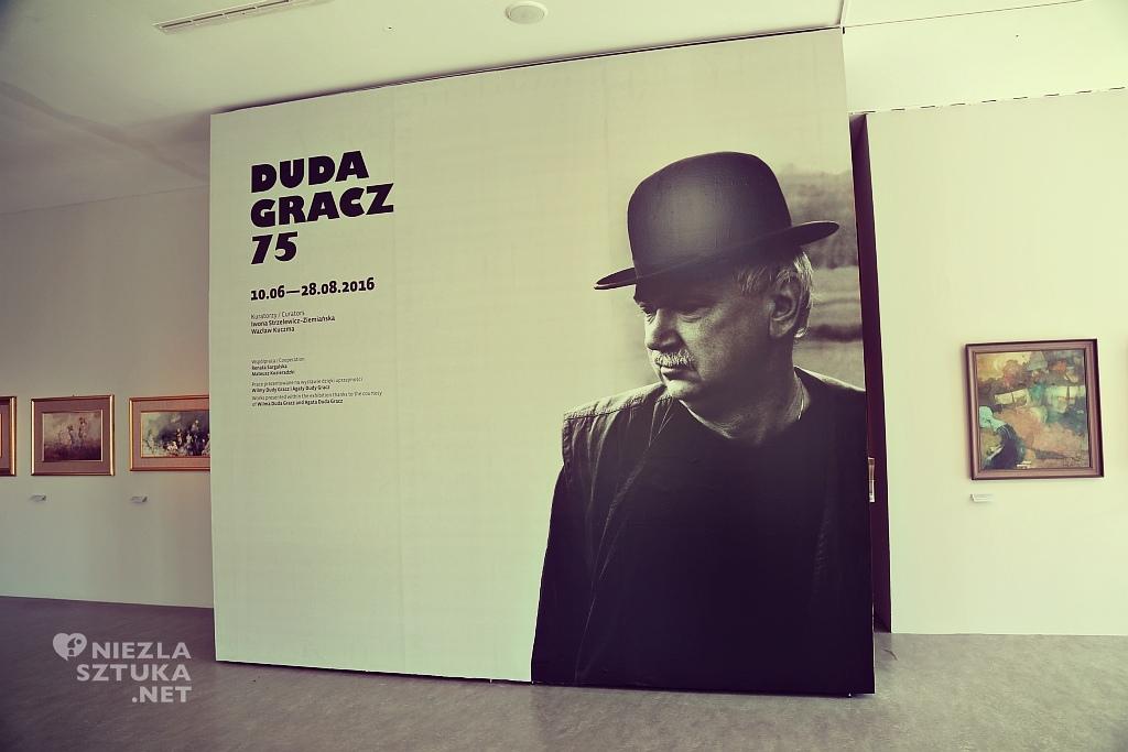 Wystawa malarstwa Jerzego Dudy-Gracza z okazji 75 rocznicy urodzin artysty