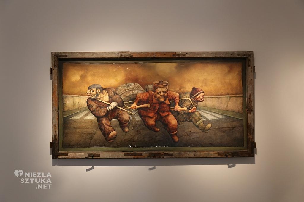 Jeźdźcy apokalipsy, czyli fucha, 1977 r., obraz olejny