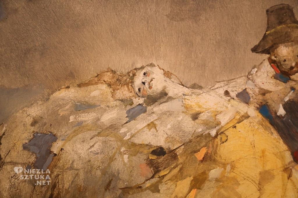 2851 (Łowicz – Mazurek Nr 3 F-dur op. posth. 68), 2003 r., olej na płycie pilśniowej
