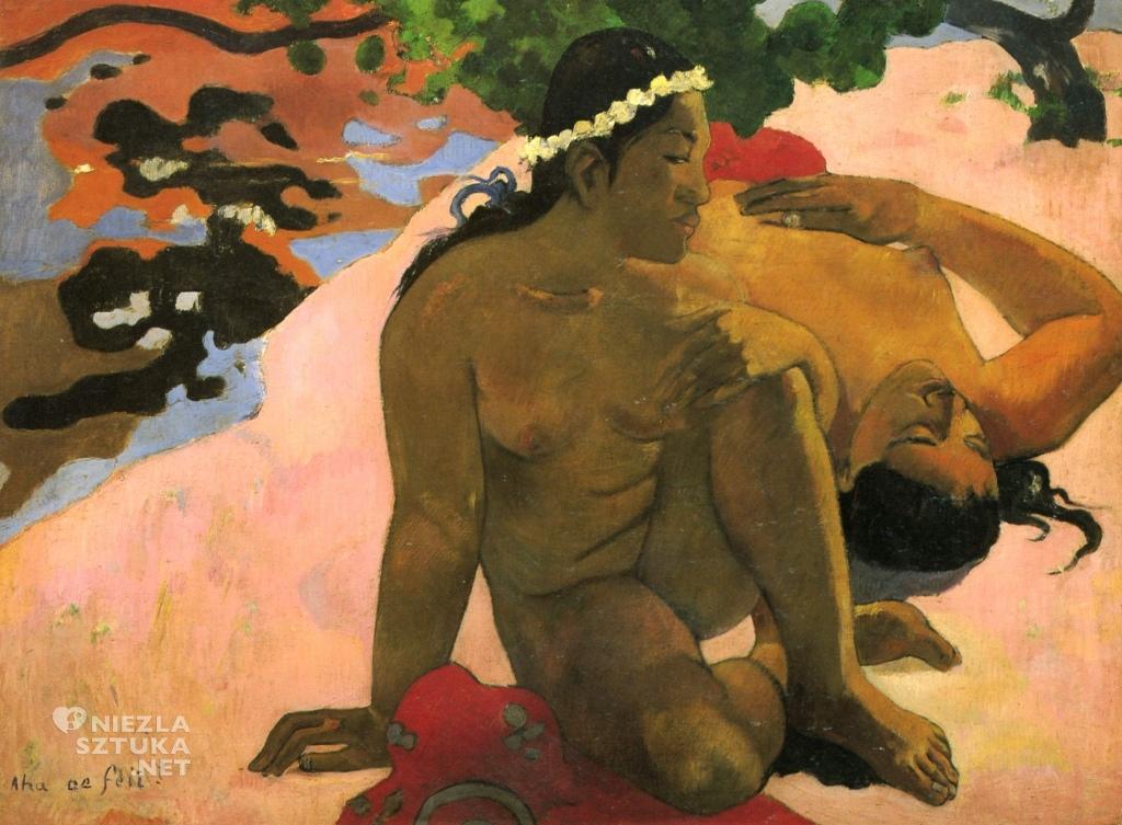 Paul Gauguin Ach, cóż to! Jesteś zazdrosna? | 1892, Muzeum Sztuk Pięknych im. Puszkina w Moskwie