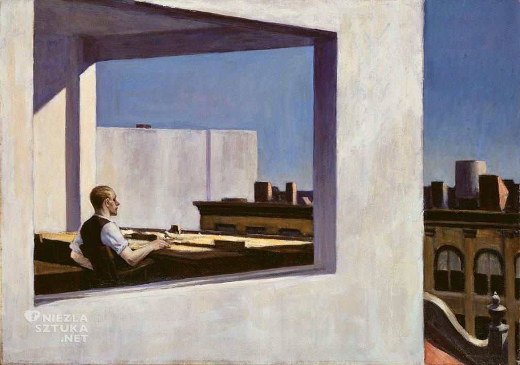 Edward Hopper Biuro w małym mieście