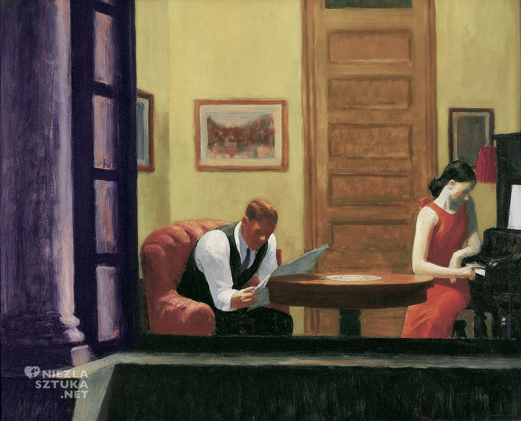 Edward Hopper Pokój w Nowym Jorku