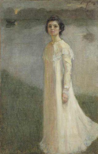 Mela Muter Autoportret