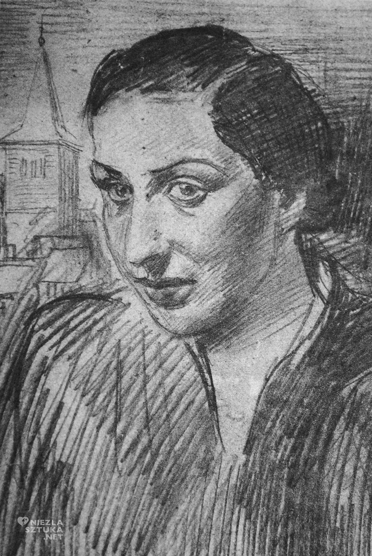 rys. B.Schulz, ołówek/papier 1934, fot. Muzeum Literatury